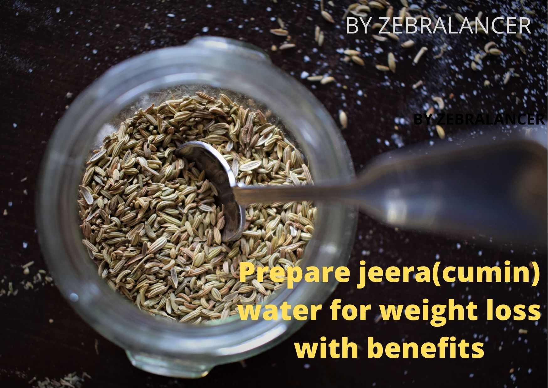 Prepare jeera(cumin) water for weight loss with benefits